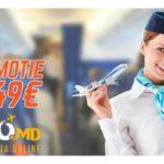 Zboara de la 49 EURO!!! REDUCERI LA BILETE DE AVION AIR MOLDOVA !!!